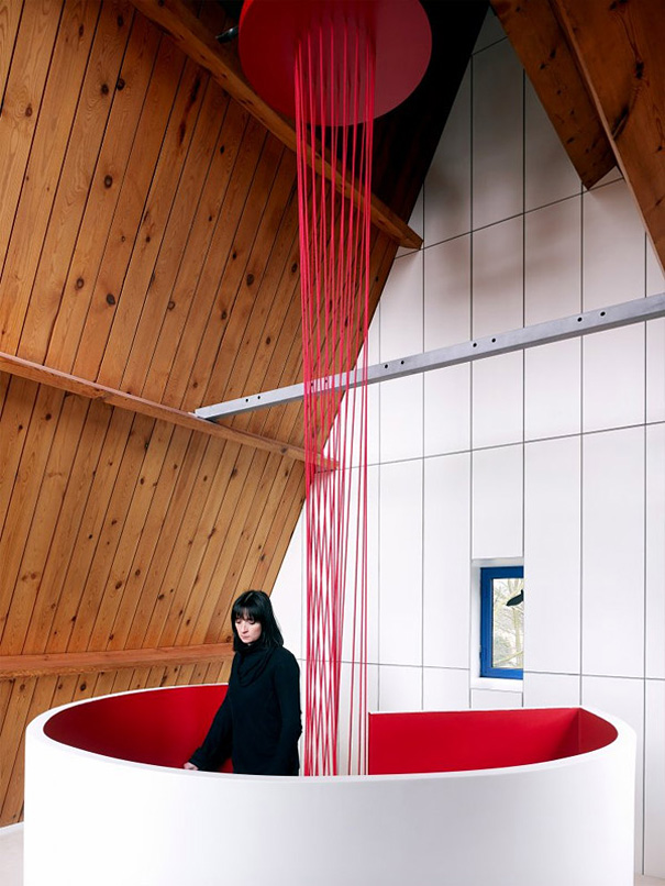 13 - Escada Criativa Blood Vessel Stairs por DMVA Architecten 1